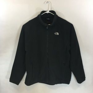 The North Face Fleece Full Zip. XL. Black.